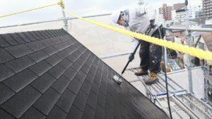 屋根施工事例1